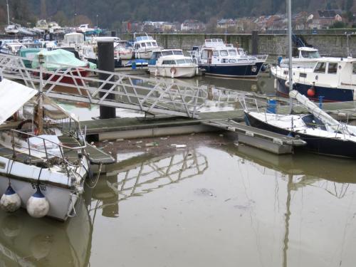 Les ports après les pluies de décembre 2017