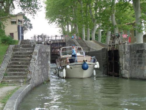 Salliance à Castelnaudary (Canal du Midi)