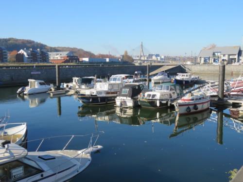 Derniers beaux jours de 2018 au port de statte